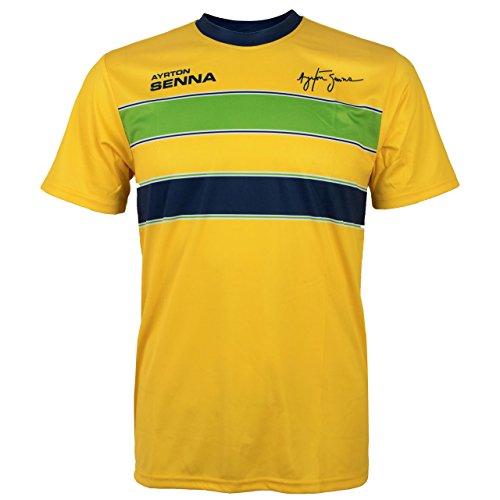 MBA-SPORT Ayrton Senna T-Shirt Helm (XL)