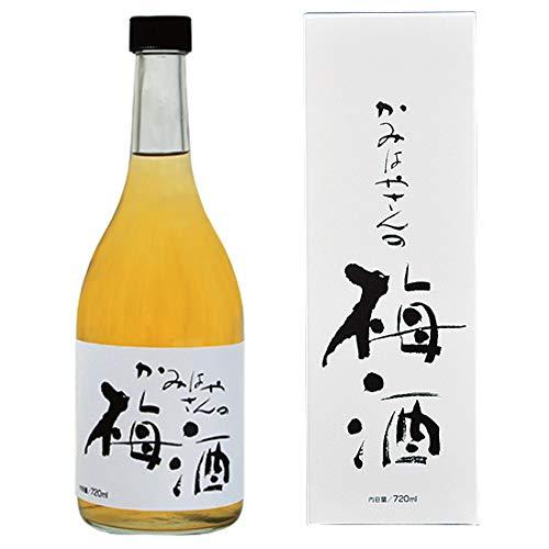 かみはやさんの梅酒 720ml (岡畑農園の完熟梅100%梅酒)