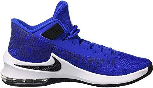Nike Air MAX Infuriate 2 Mid, Zapatos de Baloncesto para Hombre, Dorado (Game Royal/Black/White 400), 47.5 EU