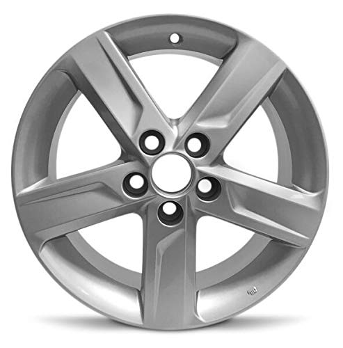 Road Ready Car Wheel For 2012-2014 Toyota Camry 17 Inch 5 Lug Silver Aluminum Rim Fits R17 Tire - Exact OEM Replacement - Full-Size Spare