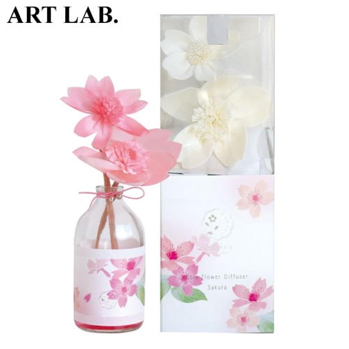 不毛の溶けた喜んでwanokaソラフラワーディフューザー桜《桜をイメージした甘い香り》ART LABAroma Diffuser