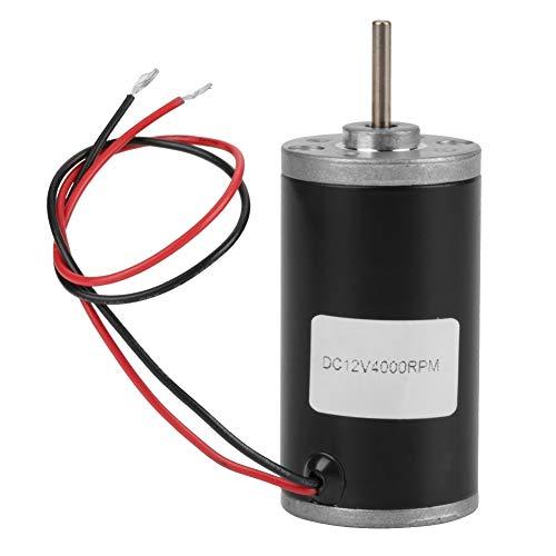 Motores de CC, imán permanente 31ZY 6V / 12V / 24V 3500-8000 RPM Motor de CC de imán permanente de alta velocidad CW/CCW para generador de bricolaje(12v4000)