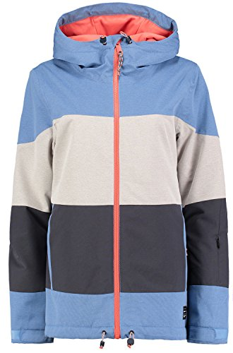 O'Neill Damen PW Coral Jacket Skijacke, Azure Blue, M