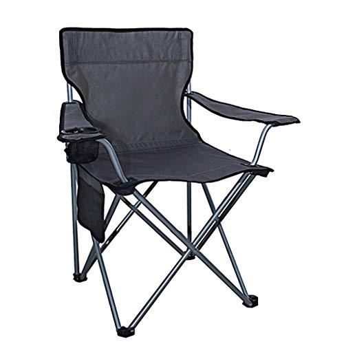 Silla plegable al aire libre Silla plegable al aire libre, silla plegable de camping portátil ultraligero para pesca Leisure Beach Actor Director de Arte Estudiante Sketching Sillón de la silla que ac