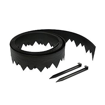 EasyFlex 3500-20C-3 Pound-in Landscape Edging 20 FEET Black