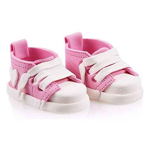 Bombasei Babyschuhe rosa, 2 Stück