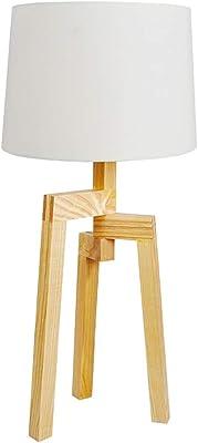 Lámpara de Sobremesa Eivor - Lámpara de Madera - Vaukura ...