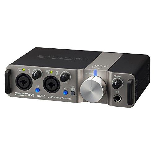 ZOOM ズーム オーディオインターフェイス USB3.0【メーカー3年延長保証付】 UAC-2