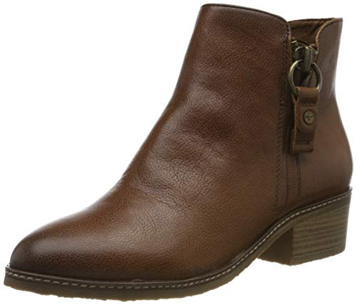 Tamaris Damen 1-1-25356-23 Stiefeletten, Braun (Cognac Leather 348), 39 EU