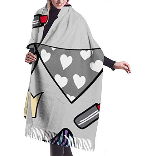 Regan Nehemiah damessjaal wrap hoge hakken pumps schoenen sjaal wrap sjaal sjaal warme deken