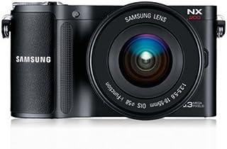 Samsung NX200 Systemkamera (20,3 Megapixel, 7,6 cm (3 Zoll) Display, i Funktion) inkl. 18 55mm NX Objektiv