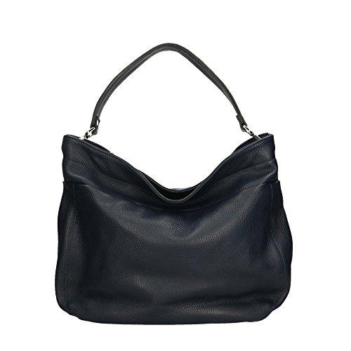 Aren - Shoulder Bag Borsa a Spalla da Donna in Vera Pelle Made in italy - 37x29x12 Cm