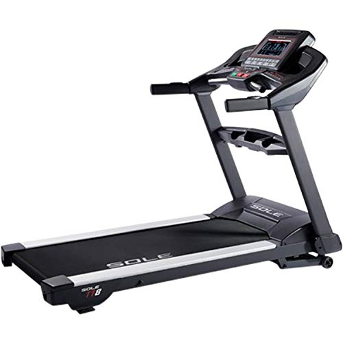 SOLE TT8 Light Commercial Non-Folding Treadmill with Incline & Decline Settings All Pilates Products Racks Treadmills
