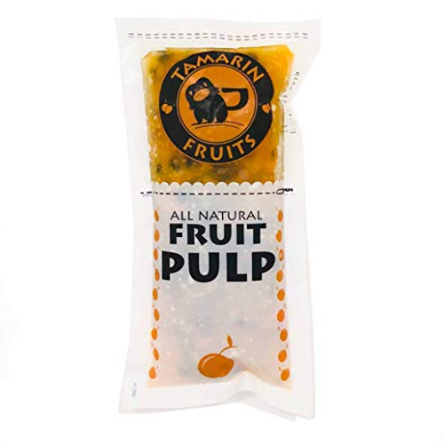 Passion Fruit - Tamarin Fruits All Natural Frozen Fruit Pulp (Yellow Passion Fruit, 12 lbs)
