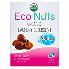 Safe for Delicate Skin; Hypoallergenic; Fragrance Free; Saponin released from soap nuts is a chemical free natural laundry solution ideal for those with sensitive skin, allergies, or eczema 2-in-1 Dual action laundry solution that can be used as a de...
