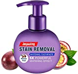 Baking Soda Whitening Toothpaste Stain Remover Whitening Toothpaste Strengthening Stain Removal Gel Toothpastes Strong Cleaning Power Natural Fluoride-Free Toothpaste (Toothpaste Purple)