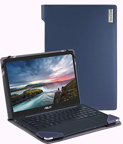 Broonel - Serie de perfiles - Estuche para De Cuero Azul Compatible con La ASUS ZenBook 13 UX331UAL