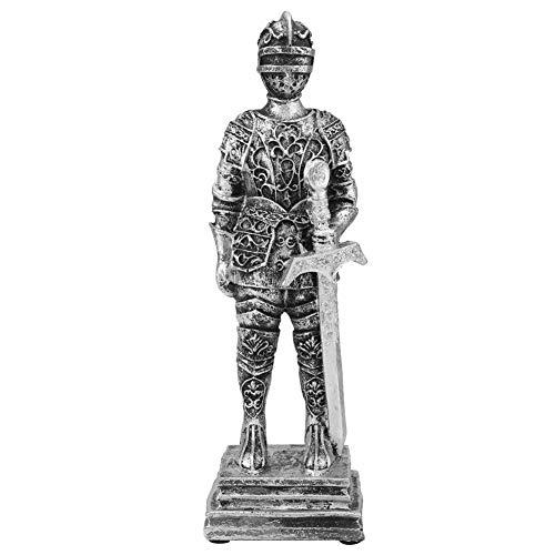 Römischer Soldat Statue, Figur Kunst Harz Euro Stil Römischer Soldat Figur für Coffee Bar Ornament Home Decor(#2)