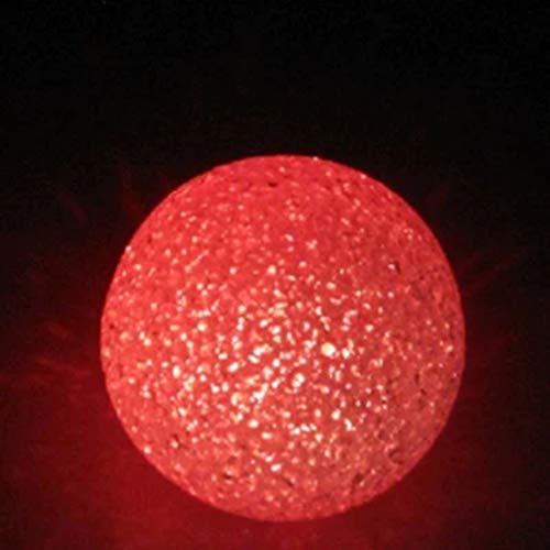OSALADI Lampada da tavolo a sfera con luce colorata Crystal Ball Lampada da comodino a luce diurna