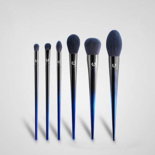 Make-up-Pinsel Brosse de Maquillage, Six Ensembles de Yeux Visage lâche Poudre Reflets Blush Smudge beauté Outils