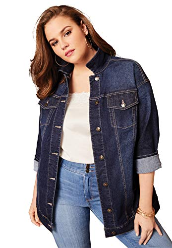 Jean Jacket Men Plus Size