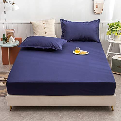 haiba Spannbettlaken 100% Baumwolle Jersey Spannbetttuch Bettlaken Betttuch,180cmx200cm