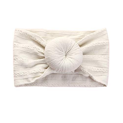 VIcoo haarband, 1 stuk vlechtpatroon donut nylon hoofdbanden mode breedte turban knopen hoofdband haarband leuke kinderen hoofdband haaraccessoires - 17