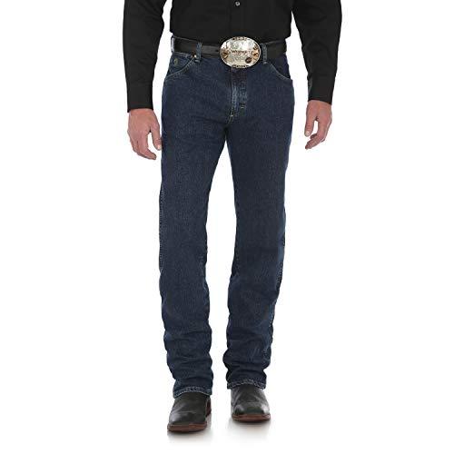 Wrangler Herren George Strait Cowboy Cut Regular Fit Jeans, Dark Amarillo, 34W / 32L