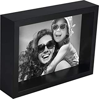 black mirror picture frame