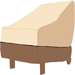 Patio Adirondack Chair Covers Deep Lounge Chair Cover Waterproof Durable Oxford Patio Outdoor Furniture Cover Protector