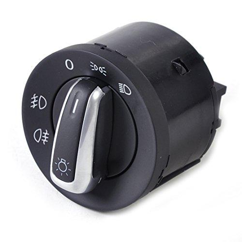 beler Commande d'interrupteur de phares 5ND941431A Adapté pour VW Golf Jetta Passat Tiguan Lapin Tiguan GTI (Fulfilled by hermeshine)