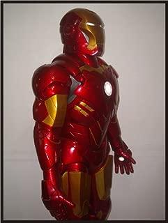 Iron Man Mk-IV/Mk-4 Armor Life Size Superhero Statue/Mannequin Prop