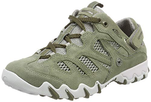 Allrounder by Mephisto Niwa, Chaussures de Running Femme, (Lt/Militaire Coresuede 26/O.Mesh 26), 37 EU