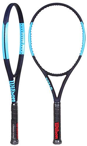 Wilson Raqueta de tenis, Ultra 100L, Grafito, Negro/azul, Empuñadura: 4 1/4'', WRT73741U2