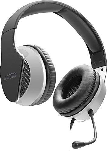 Speedlink HADOW Gaming Headset - kabelgebundenes Stereo Headset für PC/PS5/PS4/Xbox Series X/S/Switch, schwarz