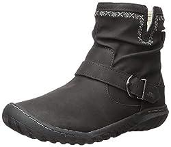 commercial JBU by JambuDottie Waterproof Ankle Boots Women's Black 8M US jbu winter boots