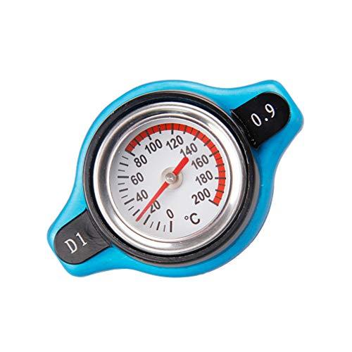 Wakauto Coperchio Del Serbatoio Dellacqua per Auto Termometro Tappo Del Radiatore Coperchio Del Serbatoio 0.9 Bar Piccolo