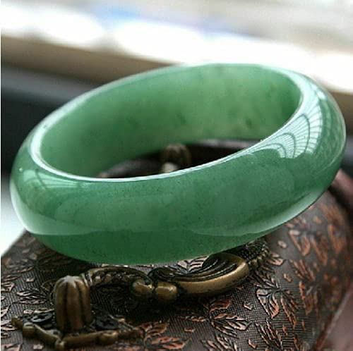 Our shop Super-cheap OFFers the best service Certified Natural Beautiful Green Jadeite Bangle Jade H Bracelet
