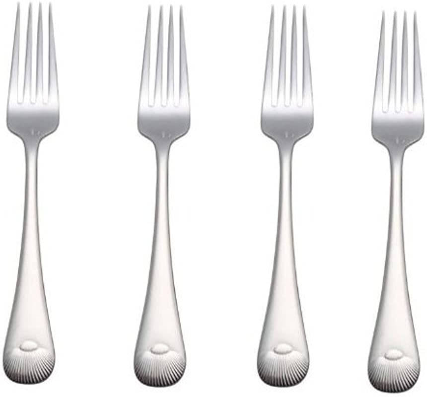 Reed Barton Sea Shell 8 1 8 Dinner Place Fork Set Of Four