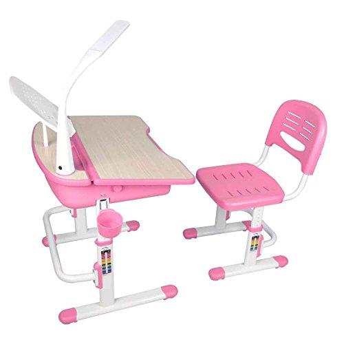 Paris Prix - Bureau & Chaise Enfant comfortline 70cm Rose
