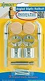 Zipbolt 13.960 Angled Slipfix Railbolt - Angled Staircase Handrail or Banister...
