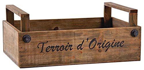 AUBRY GASPARD Caisse en Bois teinté Terroir d'origine