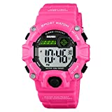 LB LIEBIG Boy's Digital Watch, Military Sports Watch with Alarm Stopwatch LED Backlight Waterproof Kids Watch for Boys
