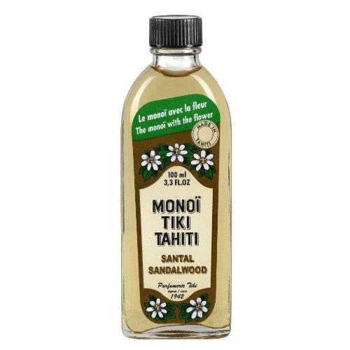 Monoi Tiki Tahiti Sandalwood (100 ml glazen fles)