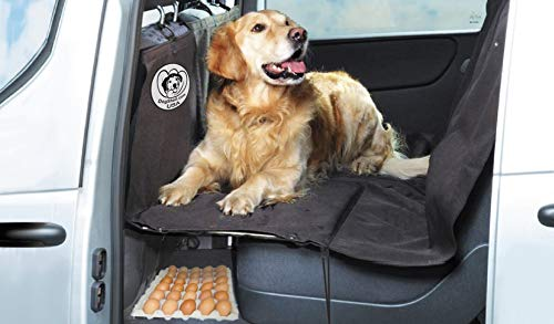 DogShell Car / SUV Dog Pet Heavy-Duty Back Seat Cover Extended Platform Bridge
