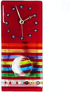 Original Murano Glass OMG Eclipse Pendulum Watch - Reloj de pared