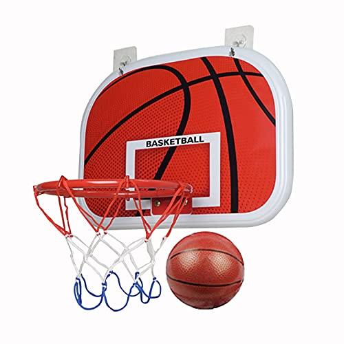 Canasta para Baloncesto Hoop De Baloncesto De Pared Interior Y Al Aire Libre, Mini Tablero De Baloncesto Infantil, Juguetes Deportivos Interesantes (Size : 34x25cm)