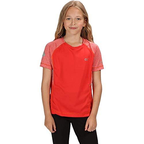 Regatta Dazzler II T-Shirt Enfant CorBlu/CorBl FR : XXS (Taille Fabricant : 3-4)