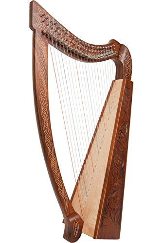 Roosebeck Heather Harp TM, 22 Strings