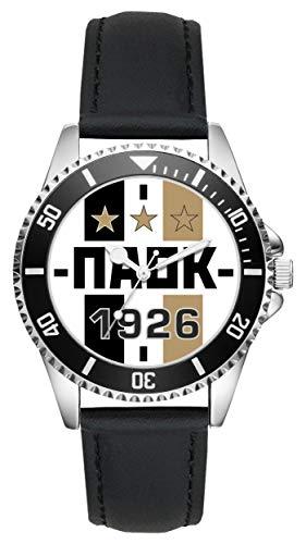 PAOK Geschenk Artikel Idee Thessaloniki Fan Uhr L-20296